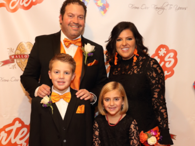 Carter's Crew Orange Tie Gala
